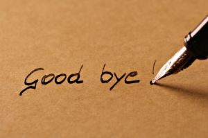 """Good Bye""… the words seem to echo in the sultry air!"
